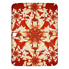 Digital Decorative Ornament Artwork Samsung Galaxy Tab 3 (10 1 ) P5200 Hardshell Case  by dflcprints