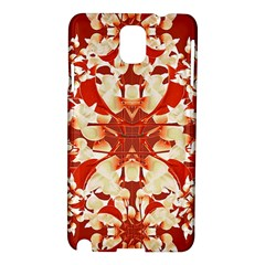 Digital Decorative Ornament Artwork Samsung Galaxy Note 3 N9005 Hardshell Case by dflcprints