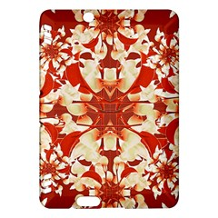 Digital Decorative Ornament Artwork Kindle Fire Hdx 7  Hardshell Case by dflcprints