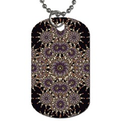 Luxury Ornament Refined Artwork Dog Tag (one Sided) by dflcprints