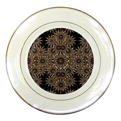 Luxury Ornament Refined Artwork Porcelain Display Plate by dflcprints