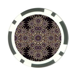 Luxury Ornament Refined Artwork Poker Chip by dflcprints