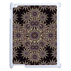 Luxury Ornament Refined Artwork Apple Ipad 2 Case (white) by dflcprints