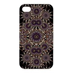 Luxury Ornament Refined Artwork Apple Iphone 4/4s Premium Hardshell Case by dflcprints