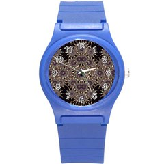 Luxury Ornament Refined Artwork Plastic Sport Watch (small) by dflcprints