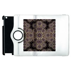 Luxury Ornament Refined Artwork Apple Ipad 2 Flip 360 Case by dflcprints