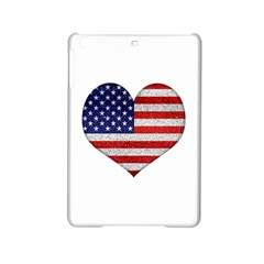 Grunge Heart Shape G8 Flags Apple Ipad Mini 2 Hardshell Case by dflcprints