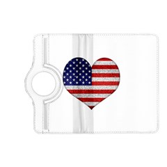 Grunge Heart Shape G8 Flags Kindle Fire Hd 7  (2nd Gen) Flip 360 Case by dflcprints