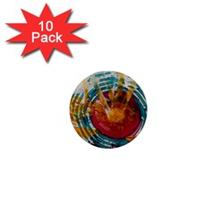 Art Therapy 1  Mini Button Magnet (10 Pack) by StuffOrSomething