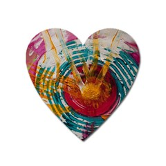 Art Therapy Magnet (heart) by StuffOrSomething