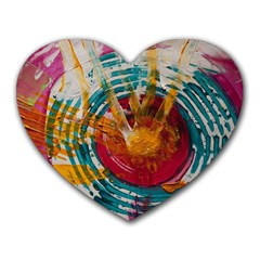 Art Therapy Mouse Pad (heart) by StuffOrSomething
