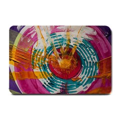 Art Therapy Small Door Mat by StuffOrSomething