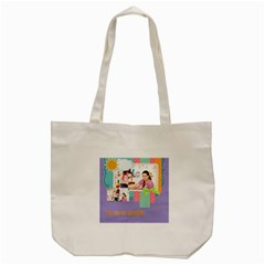Kids By Kids   Tote Bag (cream)   Wpxolciveu21   Www Artscow Com Back