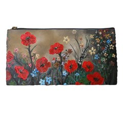 Poppy Garden Pencil Case by rokinronda