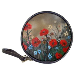 Poppy Garden Cd Wallet by rokinronda