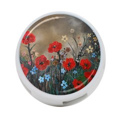 Poppy Garden 4 Port Usb Hub (two Sides) by rokinronda