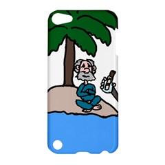 Desert Island Humor Apple Ipod Touch 5 Hardshell Case by EricsDesignz