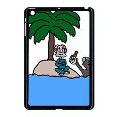 Desert Island Humor Apple Ipad Mini Case (black) by EricsDesignz