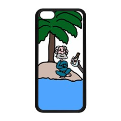 Desert Island Humor Apple Iphone 5c Seamless Case (black) by EricsDesignz