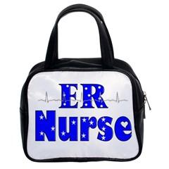 Er Nurse  Classic Handbag (two Sides) by GailGabel