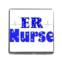 Er Nurse  Memory Card Reader With Storage (square) by GailGabel