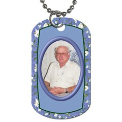 My Memory Dog Tag (2 Sided) By Deborah   Dog Tag (two Sides)   K4b7pex097s3   Www Artscow Com Front