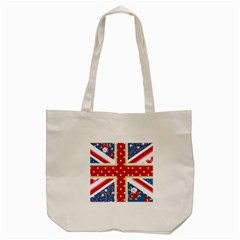 England By Divad Brown   Tote Bag (cream)   K69ypc5panor   Www Artscow Com Back