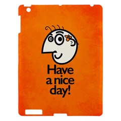 Have A Nice Day Happy Character Apple Ipad 3/4 Hardshell Case