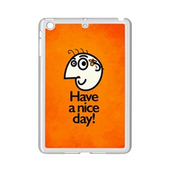 Have A Nice Day Happy Character Apple Ipad Mini 2 Case (white)