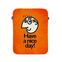 Have A Nice Day Happy Character Apple Ipad Protective Sleeve