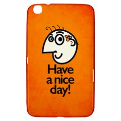 Have A Nice Day Happy Character Samsung Galaxy Tab 3 (8 ) T3100 Hardshell Case