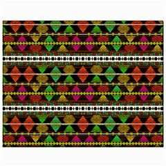 Aztec Style Pattern Canvas 11  X 14  (unframed) by dflcprints