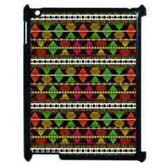 Aztec Style Pattern Apple Ipad 2 Case (black) by dflcprints