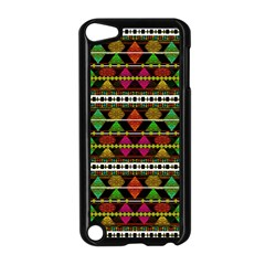 Aztec Style Pattern Apple Ipod Touch 5 Case (black) by dflcprints