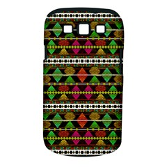 Aztec Style Pattern Samsung Galaxy S Iii Classic Hardshell Case (pc+silicone)