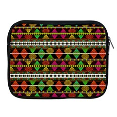 Aztec Style Pattern Apple Ipad Zippered Sleeve
