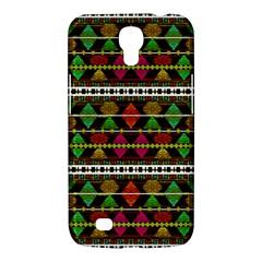 Aztec Style Pattern Samsung Galaxy Mega 6 3  I9200 Hardshell Case by dflcprints