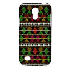Aztec Style Pattern Samsung Galaxy S4 Mini (gt I9190) Hardshell Case  by dflcprints