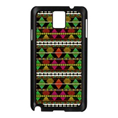 Aztec Style Pattern Samsung Galaxy Note 3 N9005 Case (black)