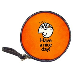 Have A Nice Day Happy Character Cd Wallet