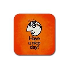 Have A Nice Day Happy Character Drink Coasters 4 Pack (square)