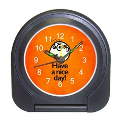 Have A Nice Day Happy Character Desk Alarm Clock