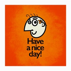 Have A Nice Day Happy Character Glasses Cloth (medium)