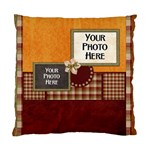 2 sided gingerbread men pillow - Standard Cushion Case (Two Sides)