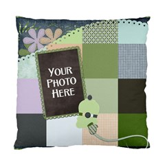 2 Sided Quilt Style Pillow By Lisa Minor   Standard Cushion Case (two Sides)   Z8q1vgp1ncg0   Www Artscow Com Front