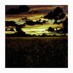 Dark Meadow Landscape  Glasses Cloth (medium) by dflcprints