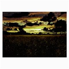 Dark Meadow Landscape  Glasses Cloth (large) by dflcprints
