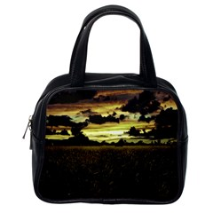 Dark Meadow Landscape  Classic Handbag (one Side) by dflcprints