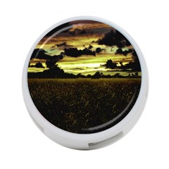 Dark Meadow Landscape  4 Port Usb Hub (one Side)