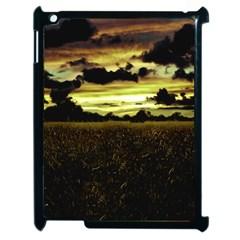 Dark Meadow Landscape  Apple Ipad 2 Case (black)